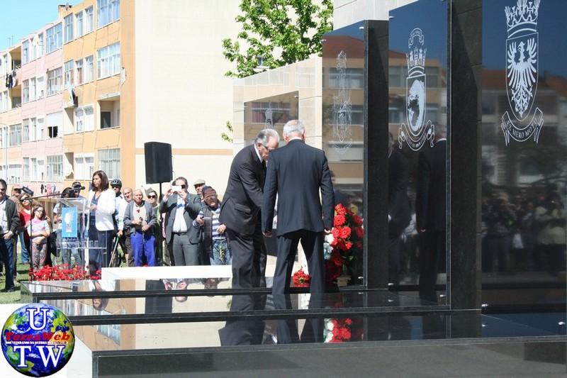 MONTIJO: As imagens da inauguração do Monumento de Homenagem aos Combatentes do Ultramar - 25Abr2016 20160425_37