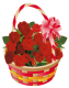 Caos is looking for... │ Búsqueda. Roses_Basket_PNG_Clipart