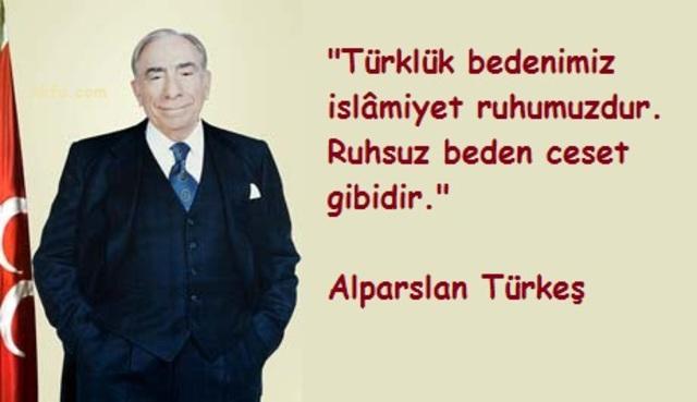 Alparslan Türkeş resimli sözleri, özlü sözler, vecizeler. Alparslan_Turkes_Sozleri_3