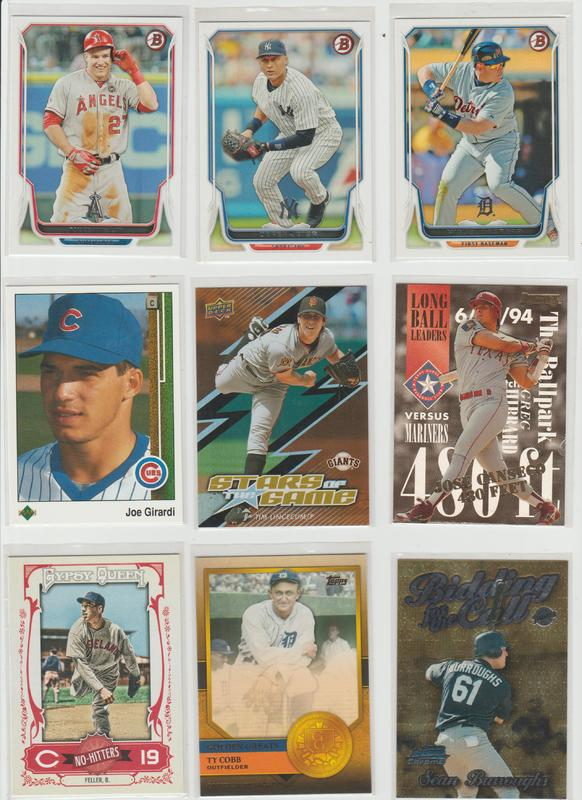 .15 CENT CARDS ALL SCANNED OVER 6000 CARDS  071