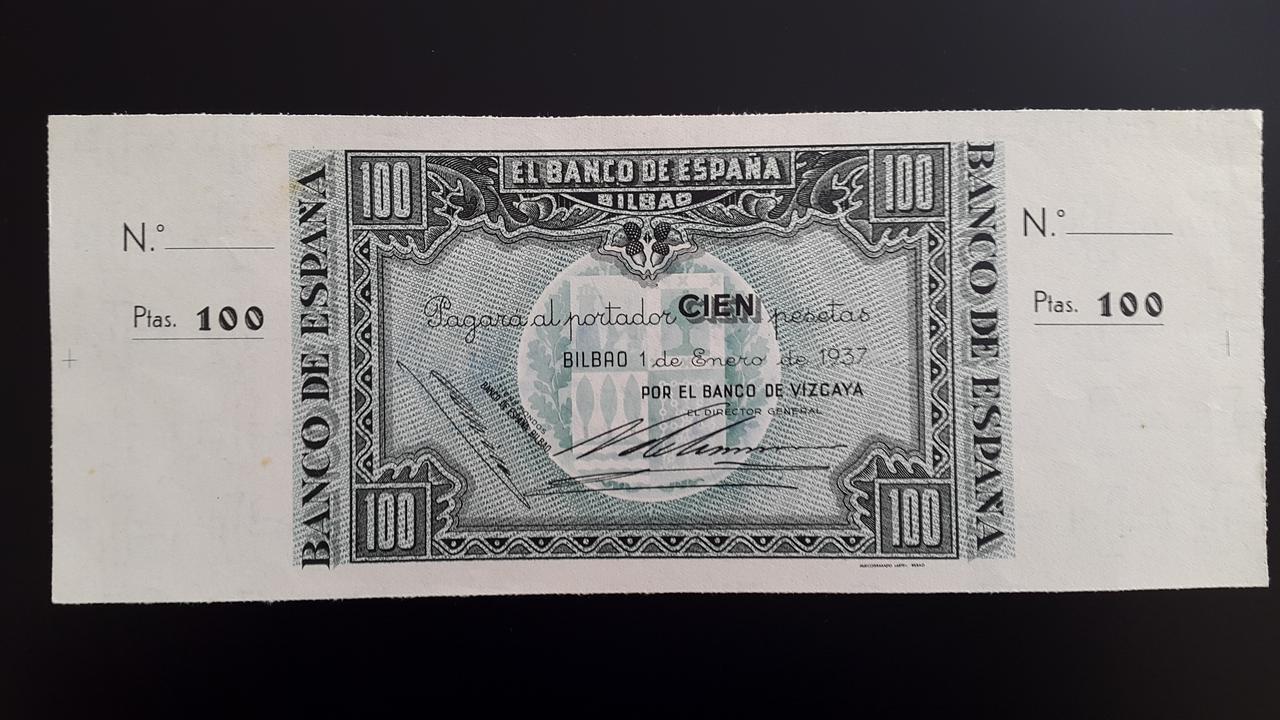 Lote de billetes de Bilbao 1937 y sus manchitas 20180723_163339