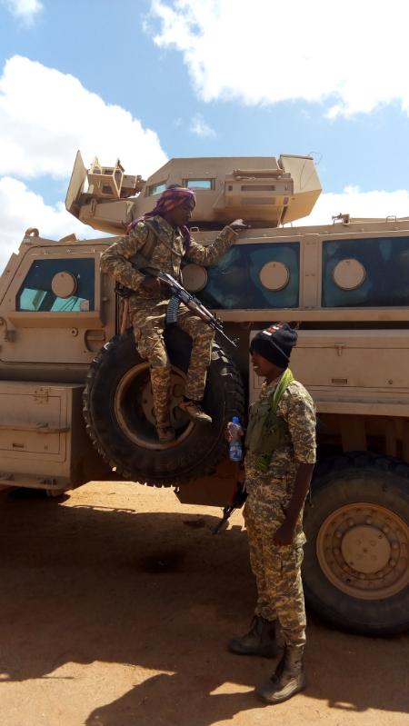 Armée Somalienne / Military of Somalia - Page 2 Sna3