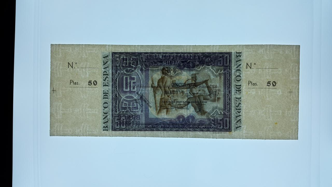 Lote de billetes de Bilbao 1937 y sus manchitas 20180723_164620