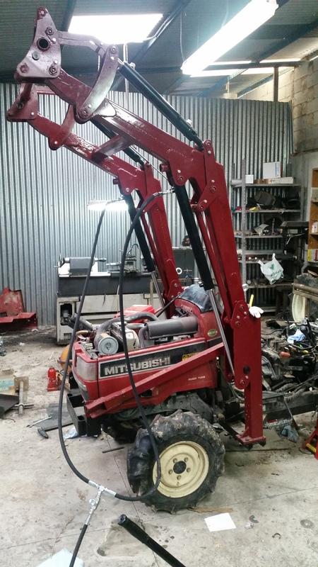 Proyecto de construccion de una pala para un mini tractor 171