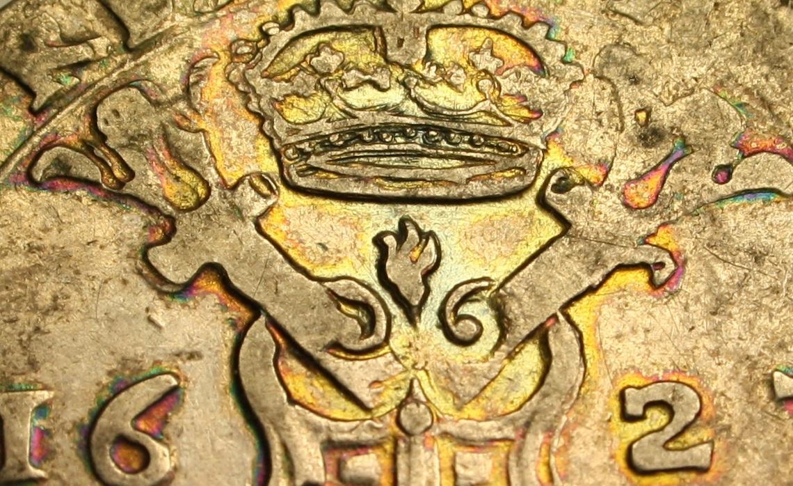 Patagón de 1623. Felipe IV, Flandes, dedicado a Poiss y a Jorge Detalle