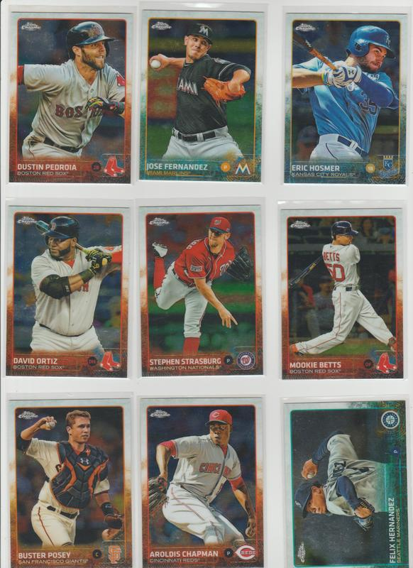.15 CENT CARDS ALL SCANNED OVER 6000 CARDS  009