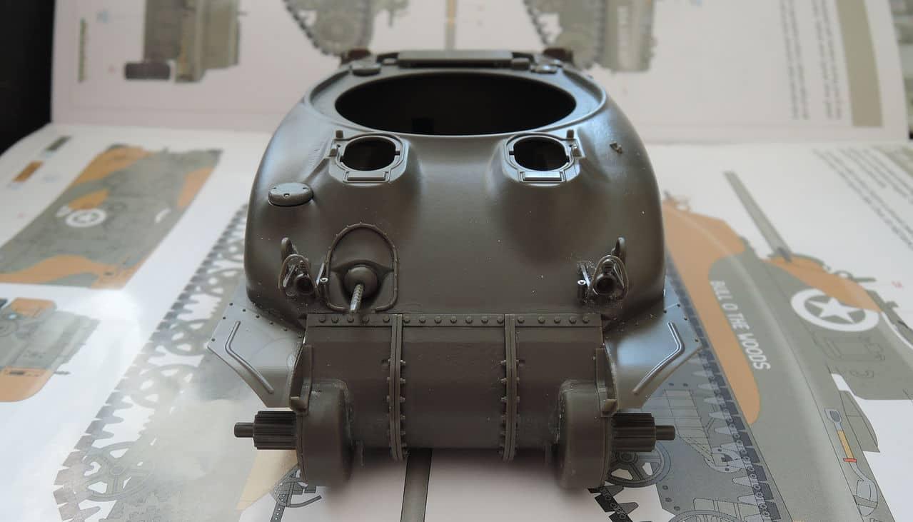 """M4A1 """"Sherman"""" 1/35 (Eduard 3716) 004"""