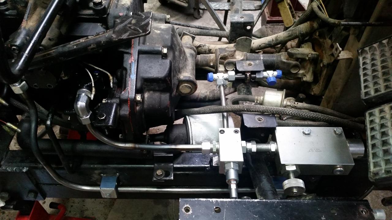 Proyecto de construccion de una pala para un mini tractor 174