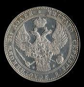 Reino de Polonia (Rusia) 1'5 Rublos/10 Zlotycs de 1.837 Polonia2