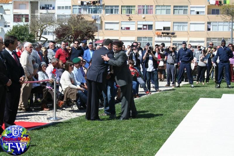 MONTIJO: As imagens da inauguração do Monumento de Homenagem aos Combatentes do Ultramar - 25Abr2016 20160425_67