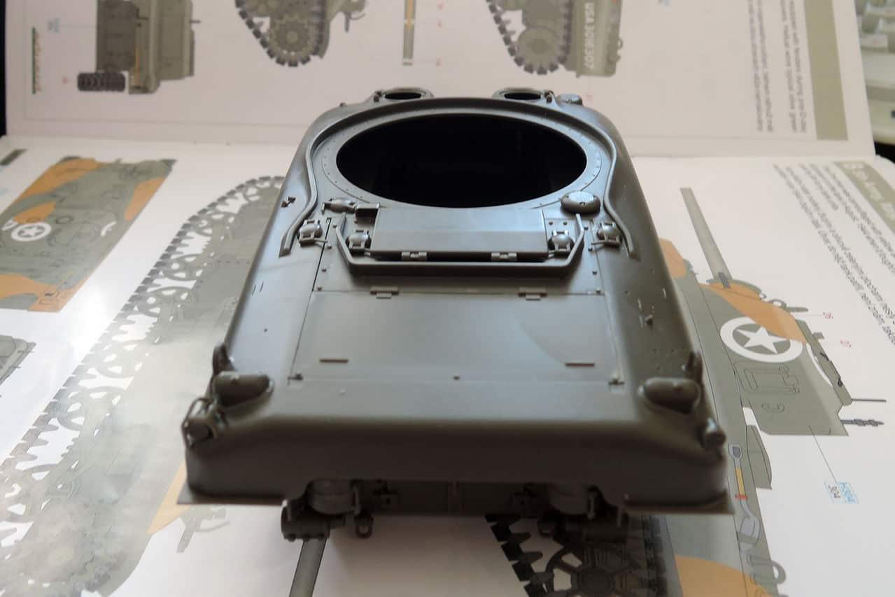"""M4A1 """"Sherman"""" 1/35 (Eduard 3716) 005"""