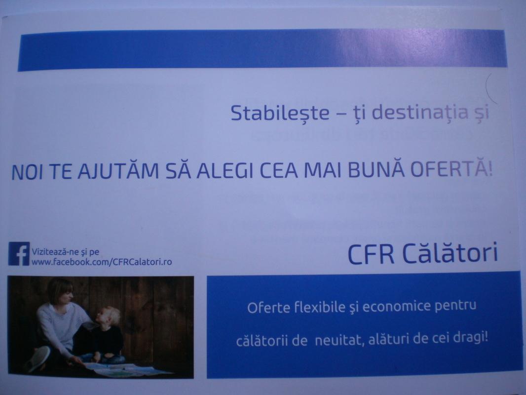 BROSURI, AFISE SI PLIANTE C.F.R. - Pagina 5 P1012764