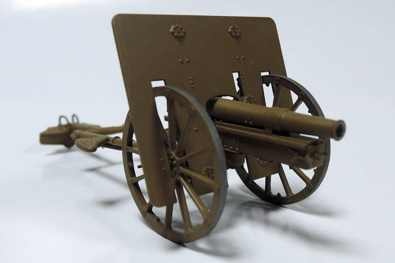75-мм горное орудие Тип 41 (1/35 Fine Molds FM38) DSCN4299