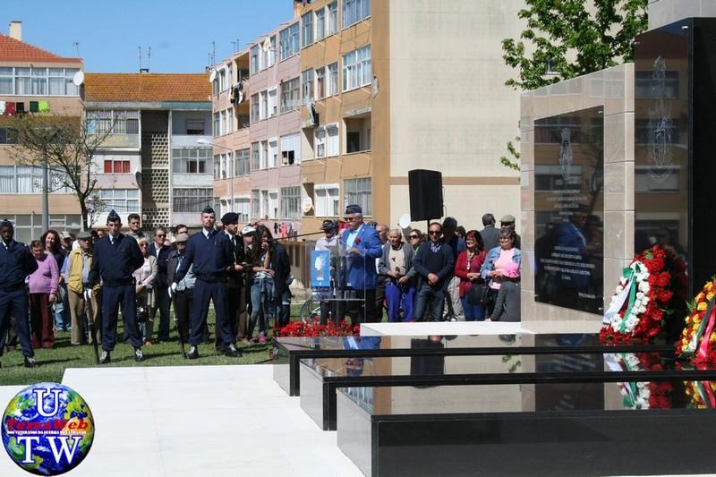 MONTIJO: As imagens da inauguração do Monumento de Homenagem aos Combatentes do Ultramar - 25Abr2016 20160425_56