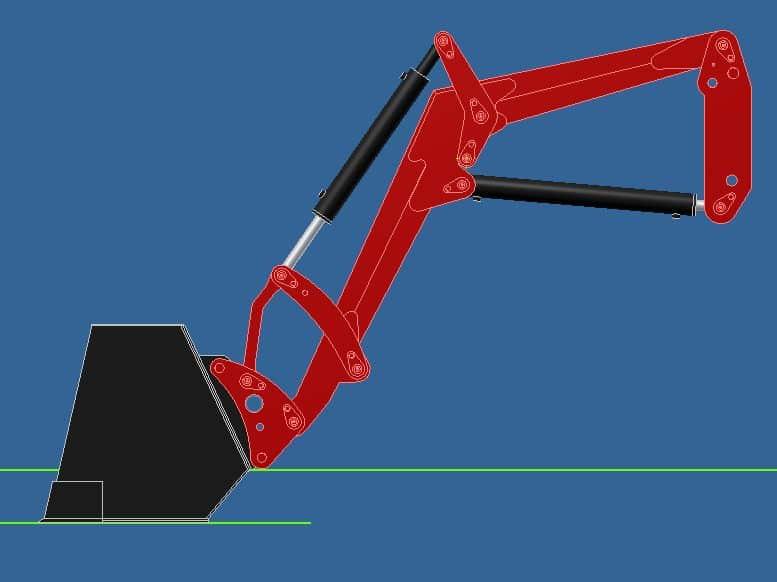 Proyecto de construccion de una pala para un mini tractor 009
