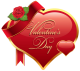 The flower path [Búsqueda] Valentines_Day_Heart_with_Rose_PNG_Clipart_Picture