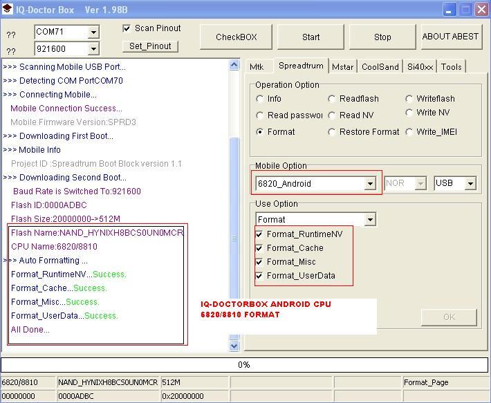 Iq-doctorbox update fimrware v1.65 FROMAT6820