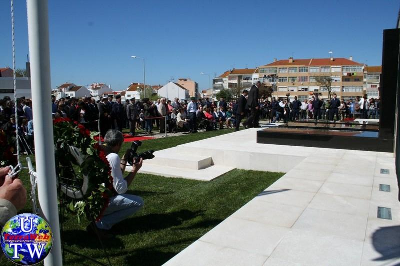 MONTIJO: As imagens da inauguração do Monumento de Homenagem aos Combatentes do Ultramar - 25Abr2016 20160425_19