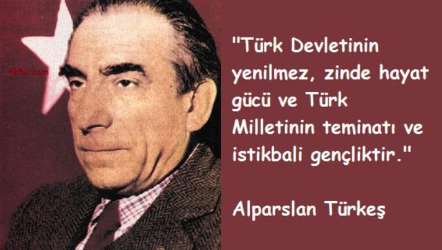 Alparslan Türkeş resimli sözleri, özlü sözler, vecizeler. Alparslan_Turkes_Sozleri_6