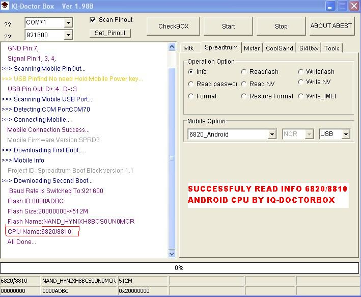 Iq-doctorbox update fimrware v1.65 6820