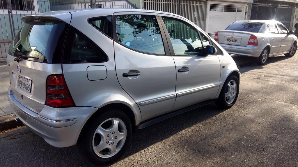 W168 A190 Avantgarde - 2004/2005 - R$ 18.000,00 (VENDIDO) Classe_A_190_Prata_61