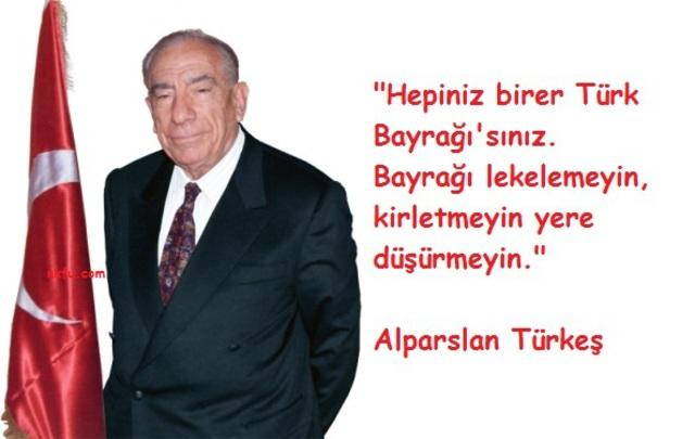 Alparslan Türkeş resimli sözleri, özlü sözler, vecizeler. Alparslan_Turkes_Sozleri_4