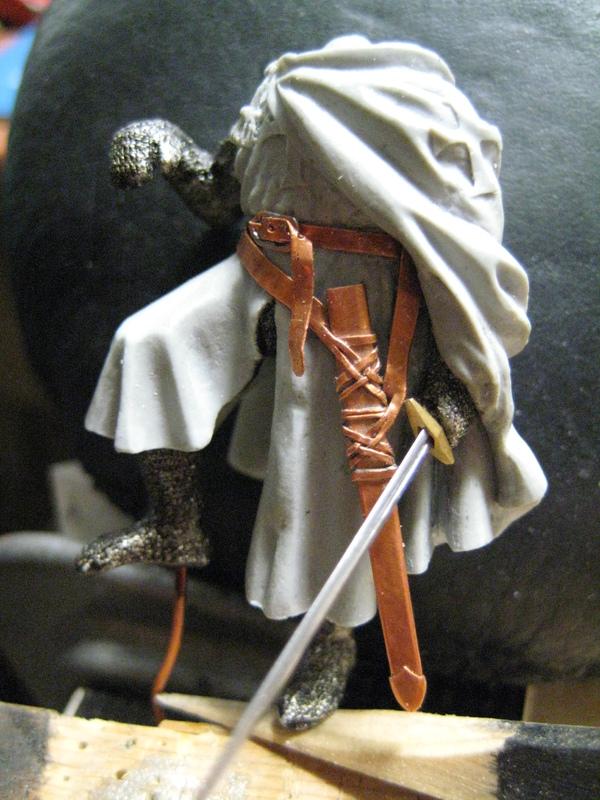 Рыцарь госпитальеров 11 век. Прапор. 55 мм. IMG_8629