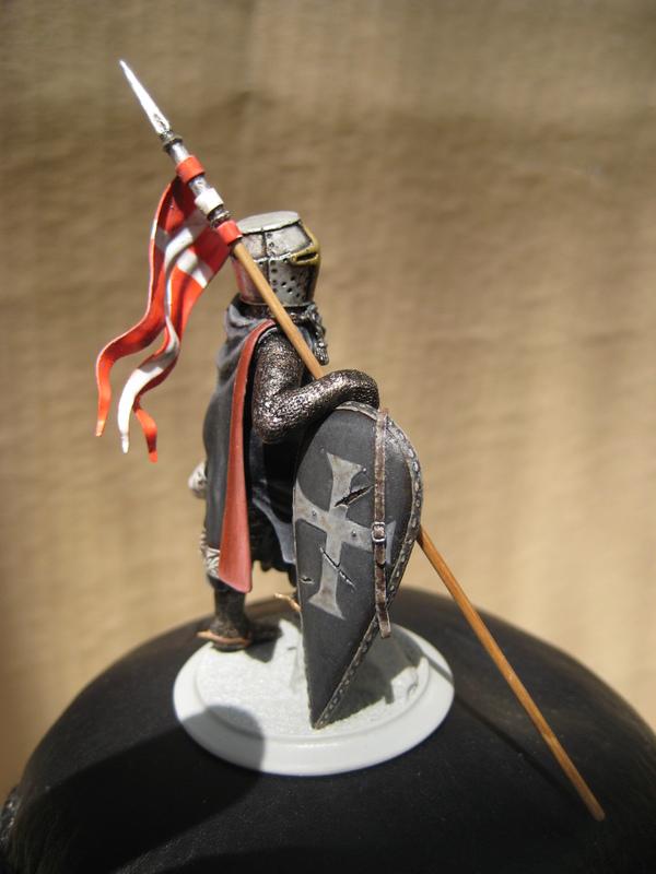 Рыцарь госпитальеров 11 век. Прапор. 55 мм. IMG_9021