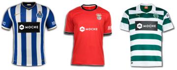 MOCHE e MEO inovam no patrocínio ao Benfica, Sporting e Porto Mocheclubes