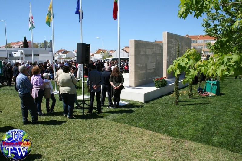 MONTIJO: As imagens da inauguração do Monumento de Homenagem aos Combatentes do Ultramar - 25Abr2016 20160425_103