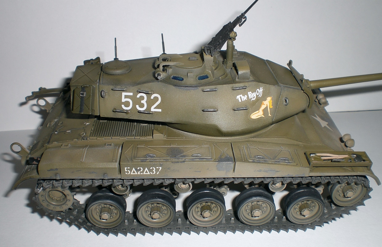 M41 Walker Bulldog (1/35 Tamiya 35055) 202