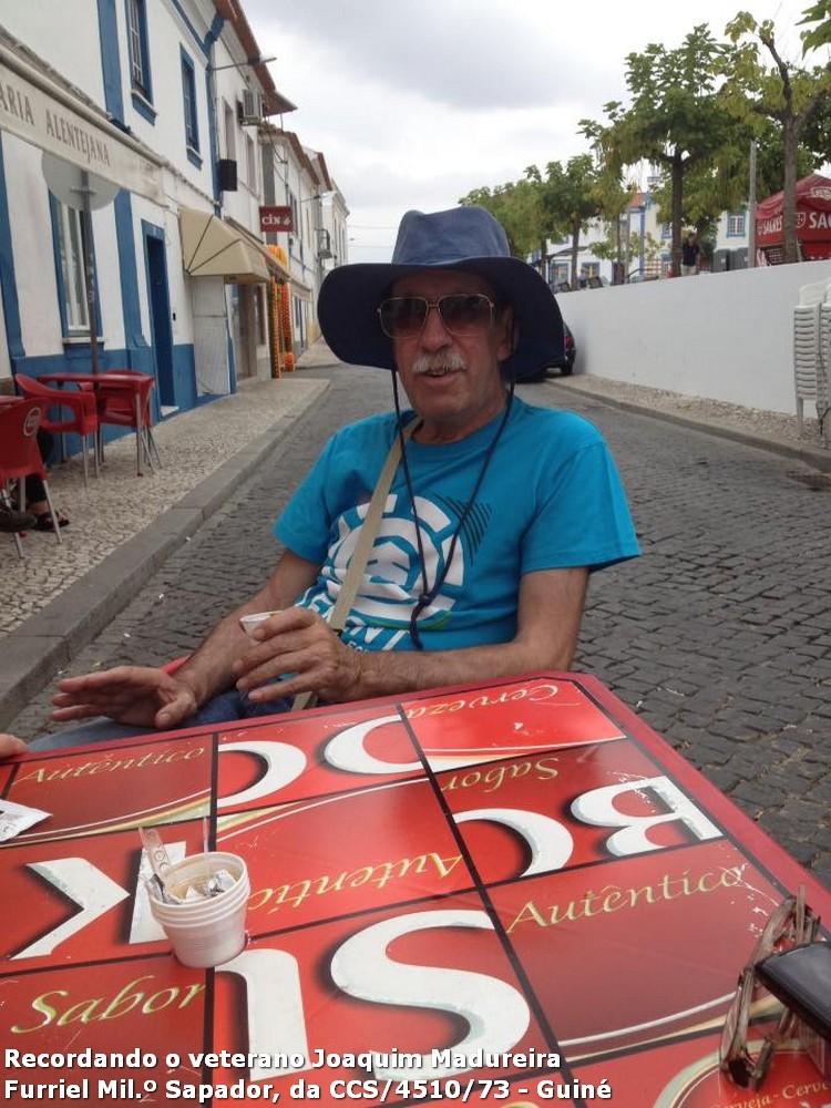 Faleceu o veterano Joaquim V Sá Madureira, Furriel Milº Sapadoir, da CCS/BCac4510/73 - 22Mar2016 11056564_1148187428530711_544998927842029370_n