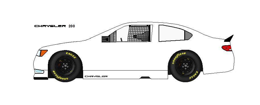 Car templates for the 2015 Sprint cup season 2015_Chrysler_200