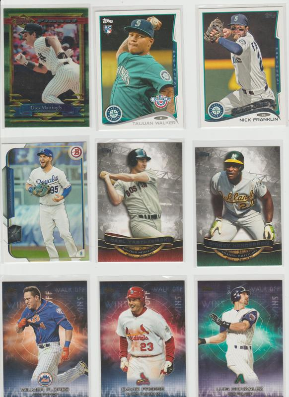 .15 CENT CARDS ALL SCANNED OVER 6000 CARDS  040