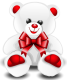 Chica problema ;D White_Teddy_Bear_PNG_Clipart_Picture