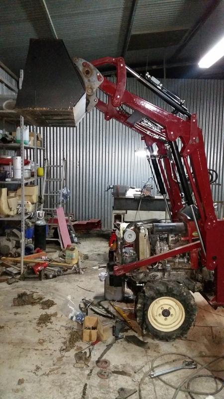 Proyecto de construccion de una pala para un mini tractor 192