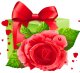 Caos is looking for... │ Búsqueda. Transparent_Heart_and_Gift_Decoration_PNG_Picture