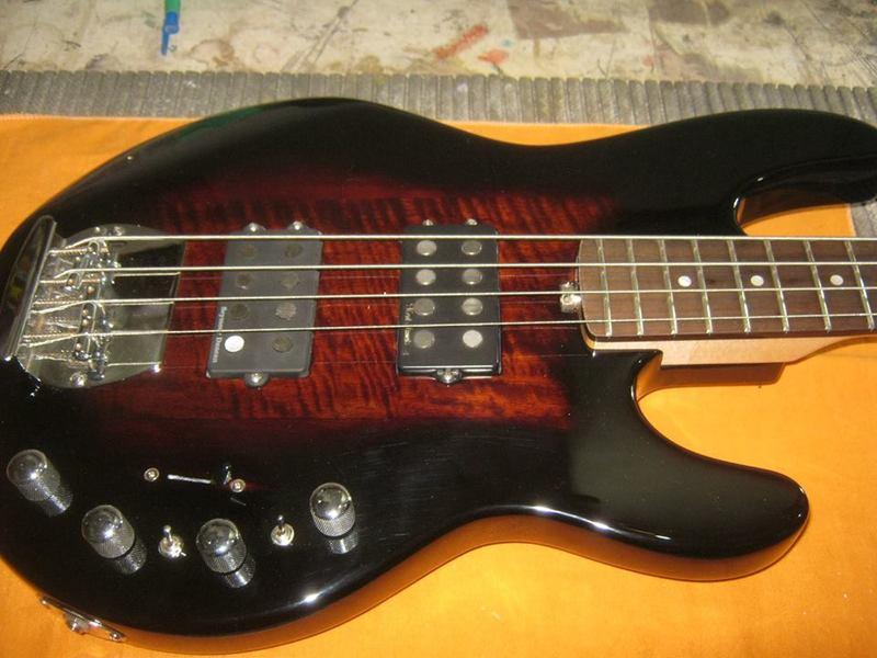 UPgrade e customização Tagima TBM-04 com MJ-Luthier 10694997_743588689032475_1167882126_n