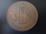 1 Céntimo de 1.885 de la Cochinchina francesa DSCN1898