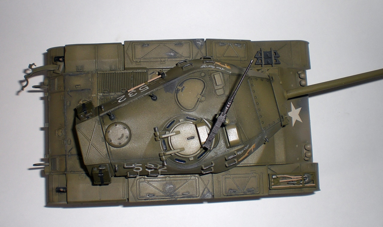 M41 Walker Bulldog (1/35 Tamiya 35055) 209