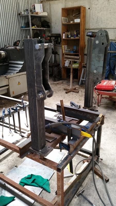 Proyecto de construccion de una pala para un mini tractor 118