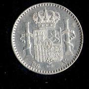 5 centavos de peso 1896. Alfonso XIII. Puerto Rico Puerto_Rico_5_001