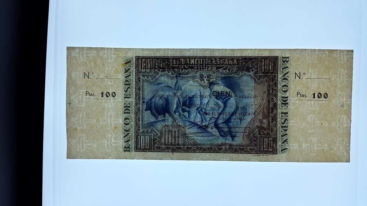 Lote de billetes de Bilbao 1937 y sus manchitas 20180723_164515