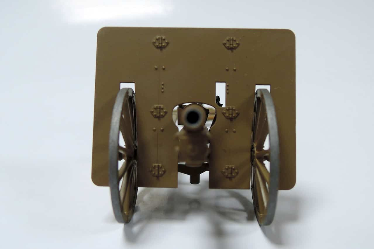 75-мм горное орудие Тип 41 (1/35 Fine Molds FM38) DSCN4301