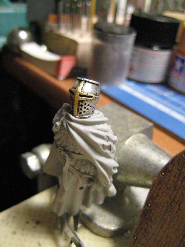 Рыцарь госпитальеров 11 век. Прапор. 55 мм. 1_016_2