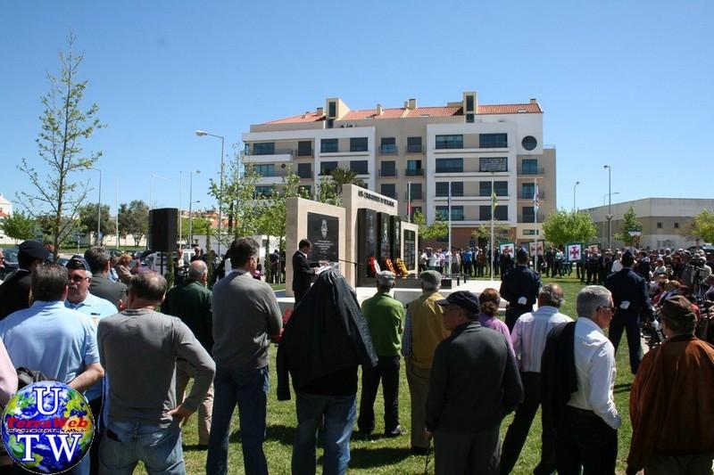 MONTIJO: As imagens da inauguração do Monumento de Homenagem aos Combatentes do Ultramar - 25Abr2016 20160425_94