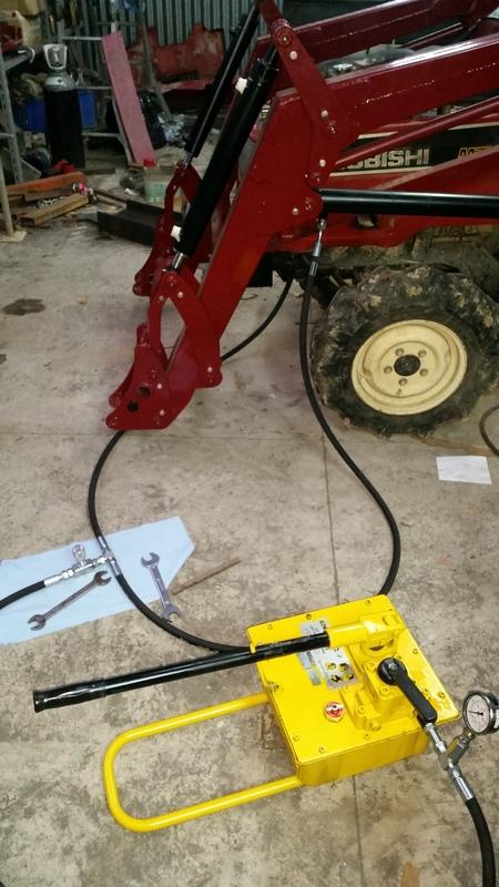 Proyecto de construccion de una pala para un mini tractor 169