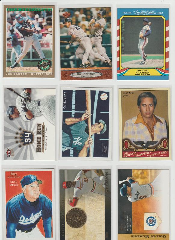 .15 CENT CARDS ALL SCANNED OVER 6000 CARDS  048