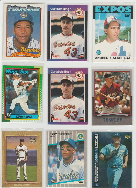 .15 CENT CARDS ALL SCANNED OVER 6000 CARDS  017