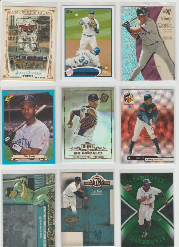 .15 CENT CARDS ALL SCANNED OVER 6000 CARDS  044